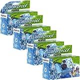 Fujifilm fqsuw4 Quick Snap Waterproof 35mm Single Use Camera, 4 Pack (Blue/Green/White)