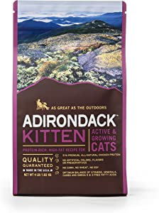 Adirondack Pet Food 22495 Kitten Protein-Rich, High-Fat Recipe Canned Pet Food, 6 Kg