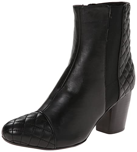 VANELi Women's Fordy Boot,Black Nappa/Black Quilted Nappa,6 ...