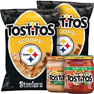 Tostitos Nfl Pittsburgh Steelers Chips & Dips Party Box, 50.5 Ounce