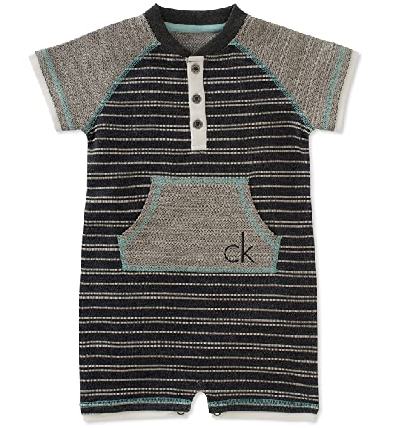 low priced 45ae8 07ca9 Calvin Klein Baby Boys' Romper: Amazon.in: Clothing ...