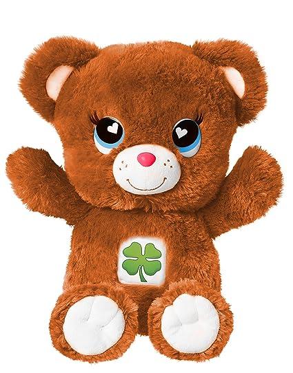 amazon com emoji bears plush brown 14 toys games