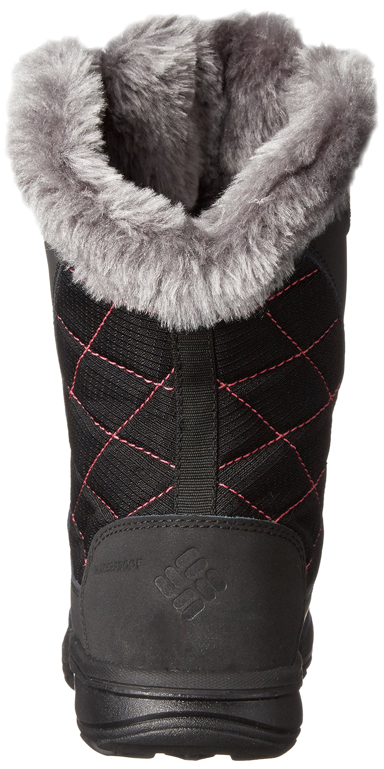 Columbia Youth Ice Maiden Lace Winter Boot (Little Kid/Big Kid), Black, 1 M US Little Kid by Columbia (Image #2)