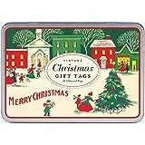 Cavallini Vintage Christmas Glitter Gift Tags