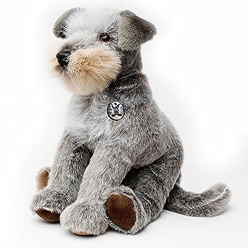 Schnauzer Inka Schlenker perro 50 cm Peluche de kuscheltiere. BIZ