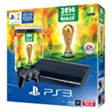 Sony PS3 12GB Console with FIFA World Cup 2014 Game (PS3)