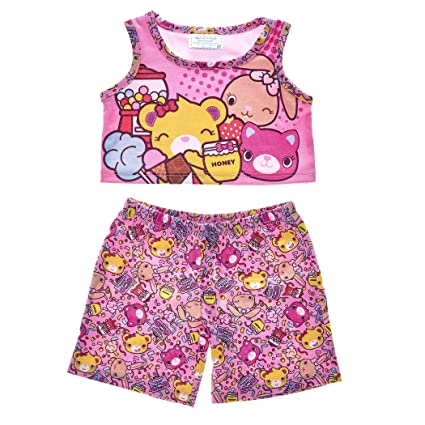 eb1bedf5fd4 Image Unavailable. Image not available for. Color  Build A Bear Workshop  Kabu Pajama Set 2 pc.