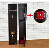 Ultimate Safe® 3 Shotgun Gun Safe Cabinet With Unique Triple Blade Lock® With Lockable Internal Security Ammunition Box Police Approved