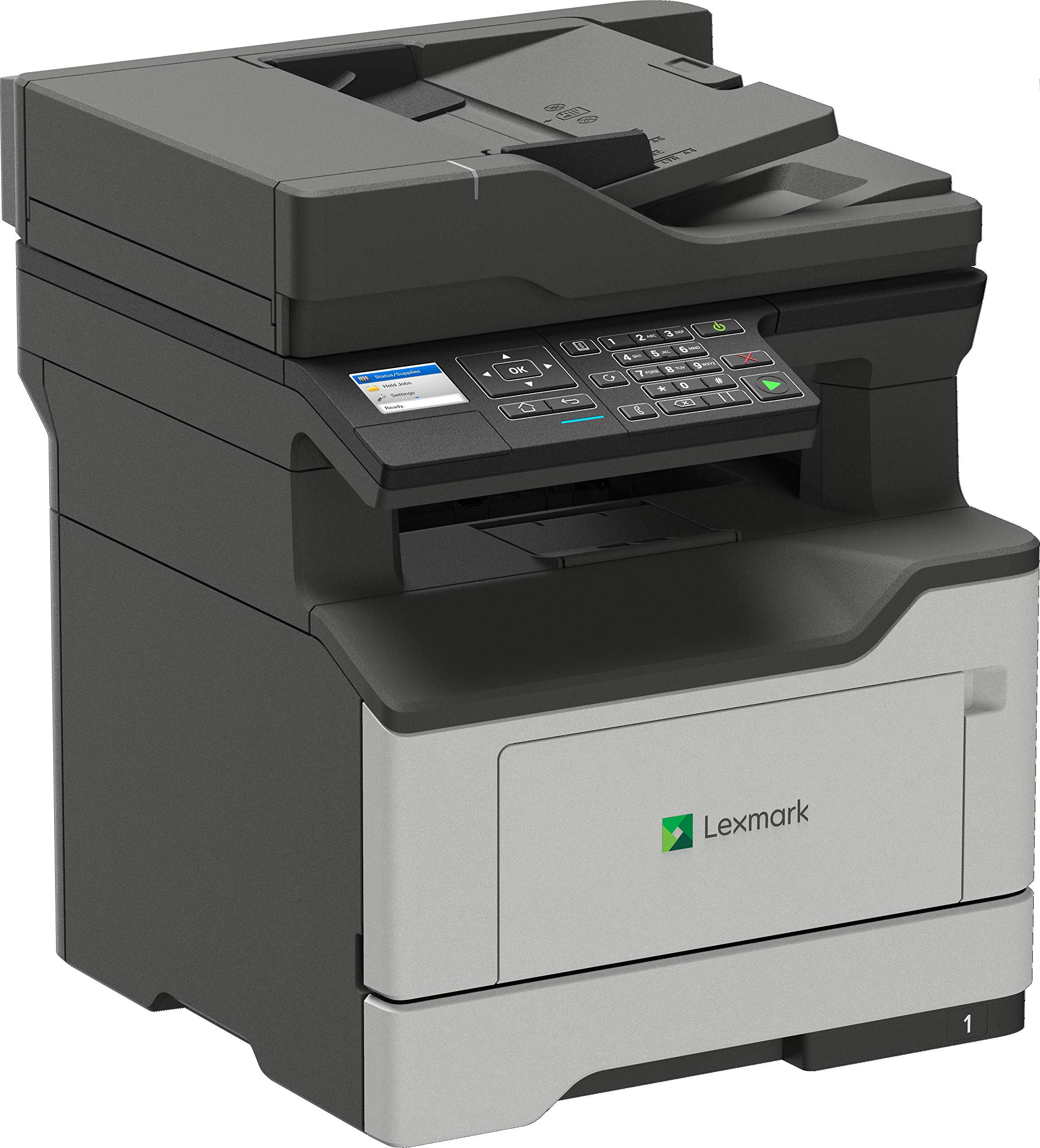 Lexmark MB2338adw Print Only Monochrome Laser Printer Duplex Two Sided Printing Wireless Network & Airprint Ready (36SC640) by Lexmark
