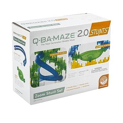 MindWare Q-BA-Maze 2.0 Zoom Stunt Set: Toys & Games