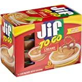 Jif To Go, Creamy Peanut Butter, 8 ct