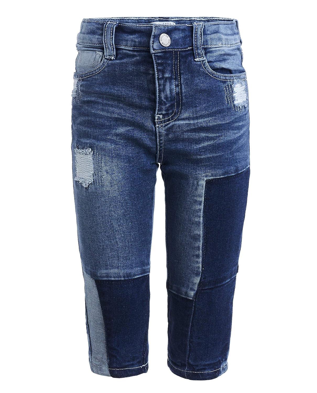 GULLIVER Baby Junge Jeans Hose f/ür 9-24 Monate Farbe Dunkel Blau 100/% Baumwolle Zerrissen Gerade Passform Regular Fit Destroyed