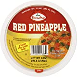 Paradise Pineapple Wedges, Red, 8 Ounce