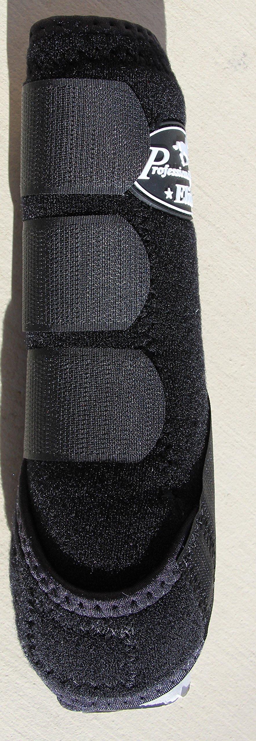 Professional's Choice ♦ VENTECH Elite Equine Sports Medicine Boots Set of 4 Colors (Black, Medium) by Professional's Choice (Image #3)