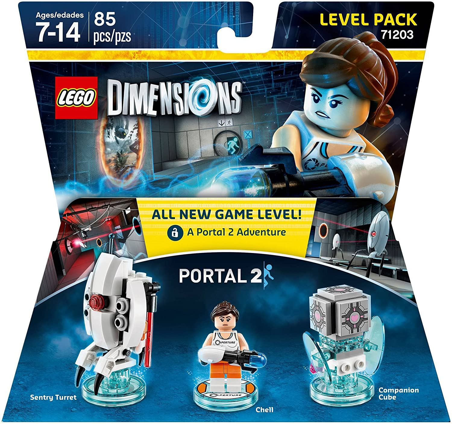 Lego Dimensions Building Toy Pack (Portal 2 Level Pack 71203)