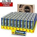 ALLMAX 100-Pack AA 1.5 Volt All-Powerful Alkaline Batteries