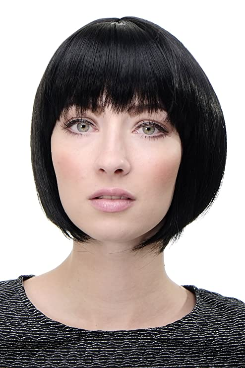 Cool Wig Me Up Lady Quality Wig Short Page Bob Fringe Bangs Deep Natural Hairstyles Runnerswayorg