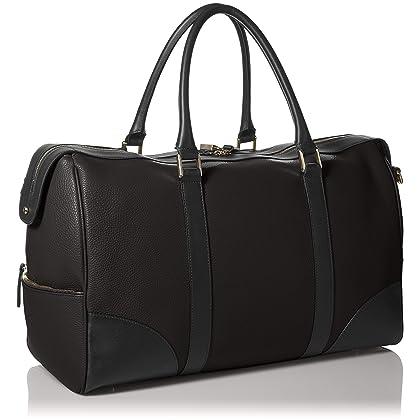 8b0c2b014fc ... Bruno Magli Men s Bicolor briefcase Duffle Bag Accessory