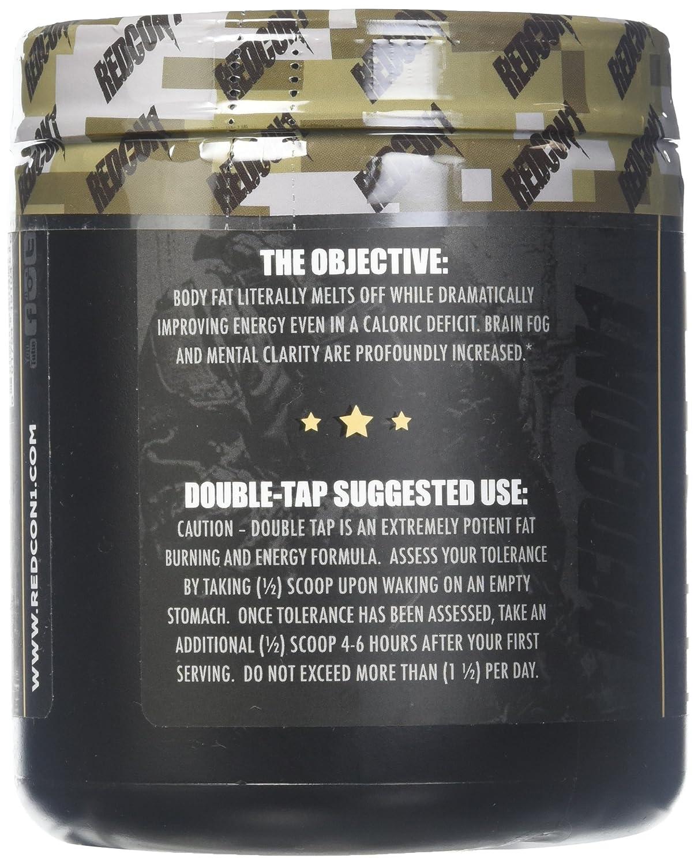 Amazon.com: Redcon1 Double Tap Powder, Orange Crush, 7.09 Ounce: Health & Personal Care