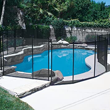 removable mesh pool fence phoenix replacement parts in ground safety ft section ideas