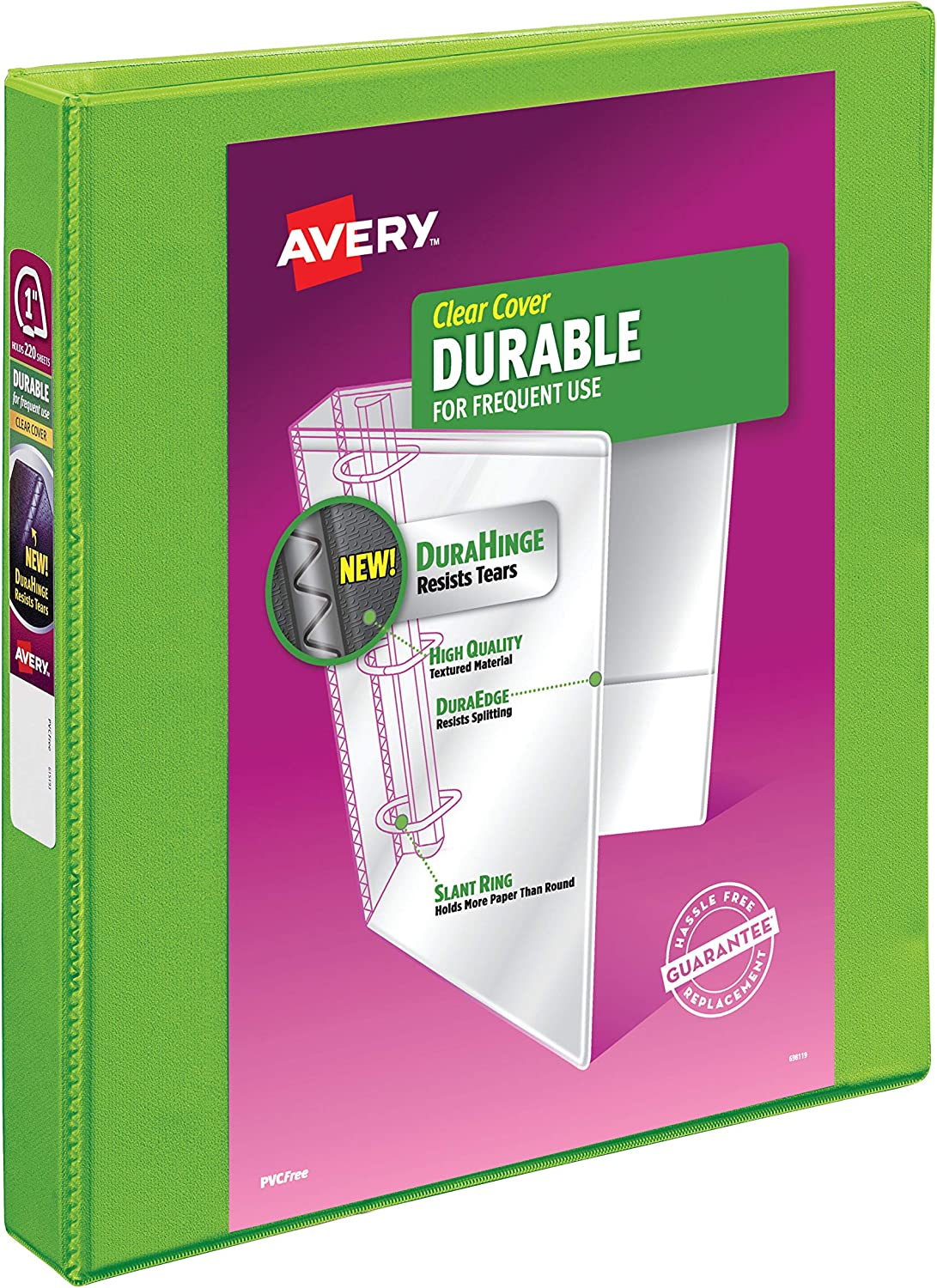 Avery Durable View Binder, 1