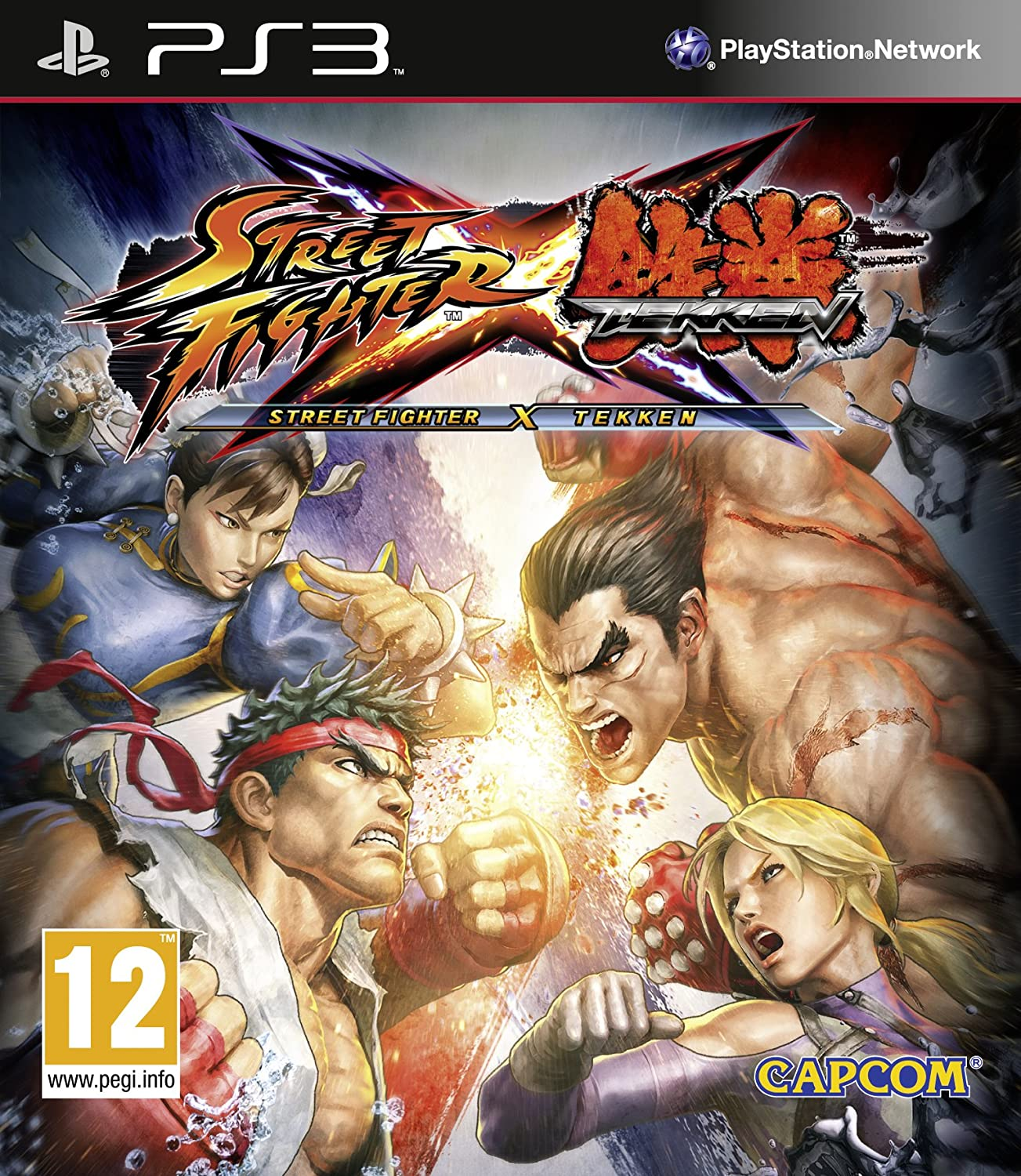Street Fighter X Tekken [Importación inglesa]: PlayStation ...