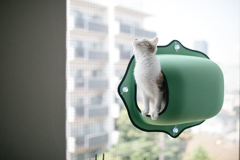 Amazon.com: Asiento de ventana para gatos K&H, 27 x 20 ...