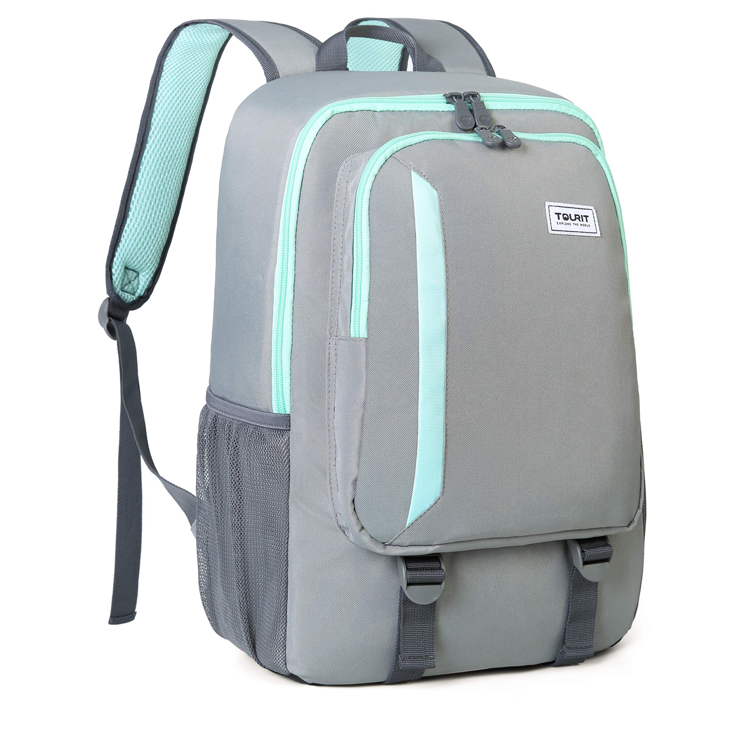 TOURIT Cooler Backpack Leakproof Insulated Backpack 28L Lunch Backpack with Cooler for Men Women to Work, Beach Trip, Day Trip, Hiking