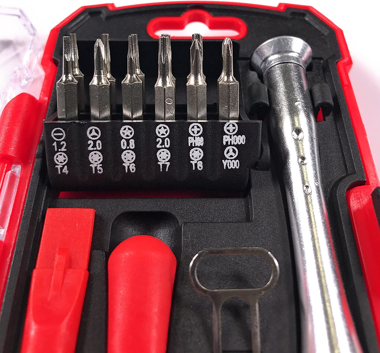 6Pcs//Set iTimo Dual Heads Metal Crowbar for Mobile Phone Notebook Prying Opening Repair Tool Kit