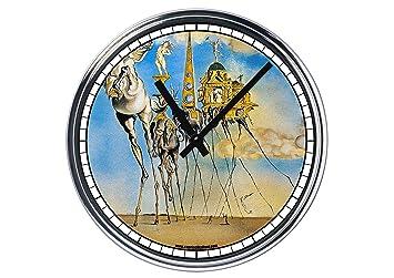 Reloj de Partete de acero Salvador Dali