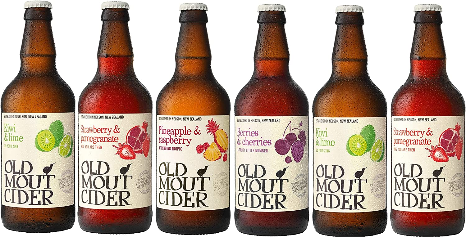 Old Mout Mixed Cider Case - 6 X 500ml