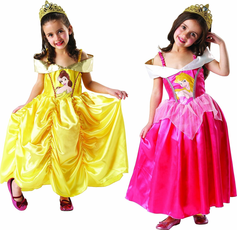 Disney I-881888M - Disfraz infantil reversible de Bella y la Bella ...