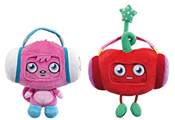 Moshi Monsters 78364 - Peluches de Poppet y Luvli para iPhone (en ...