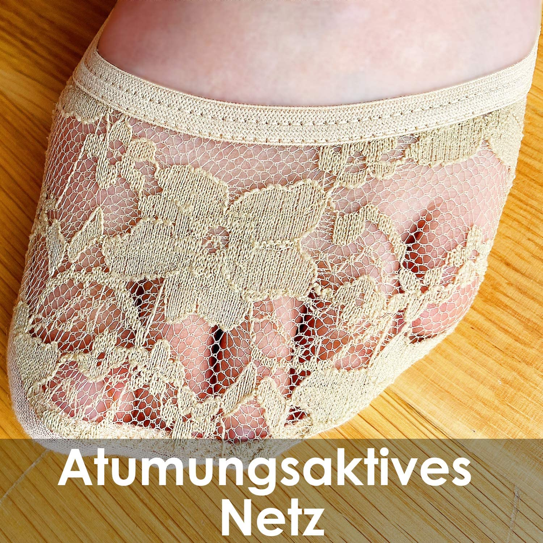 L/&K-II 15er Pack Damen F/ü/ßlinge Ballerina Socken 2011