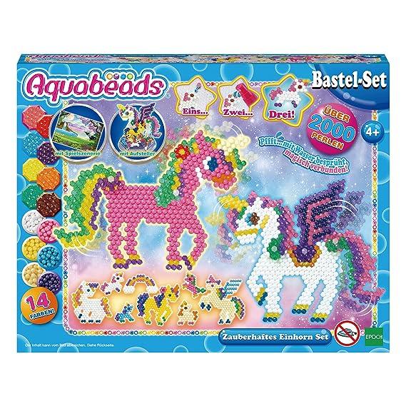 Aquabeads 31888 Einhornset Multi Amazonde Spielzeug
