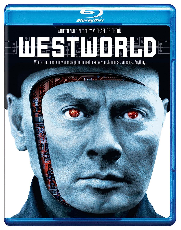 amazon com westworld bd blu ray yul brynner james brolin michael crichton movies tv