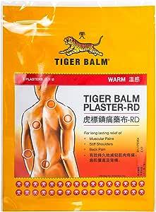 Tiger Balm Plaster Warm, Large, 3ct