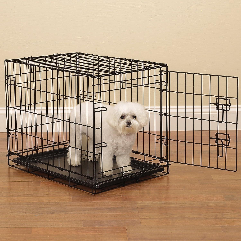Proselect fácil Perro Cajas para Perros y Mascotas - Negro: Amazon.es: Productos para mascotas
