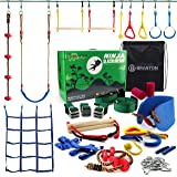 Amazon.com : Ninja Slackline Monkey Bars Kit, 42 Jungle Gym ...