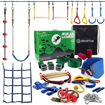 Amazon.com: Ninja Warrior Obstacle Course para niños – Ninja ...