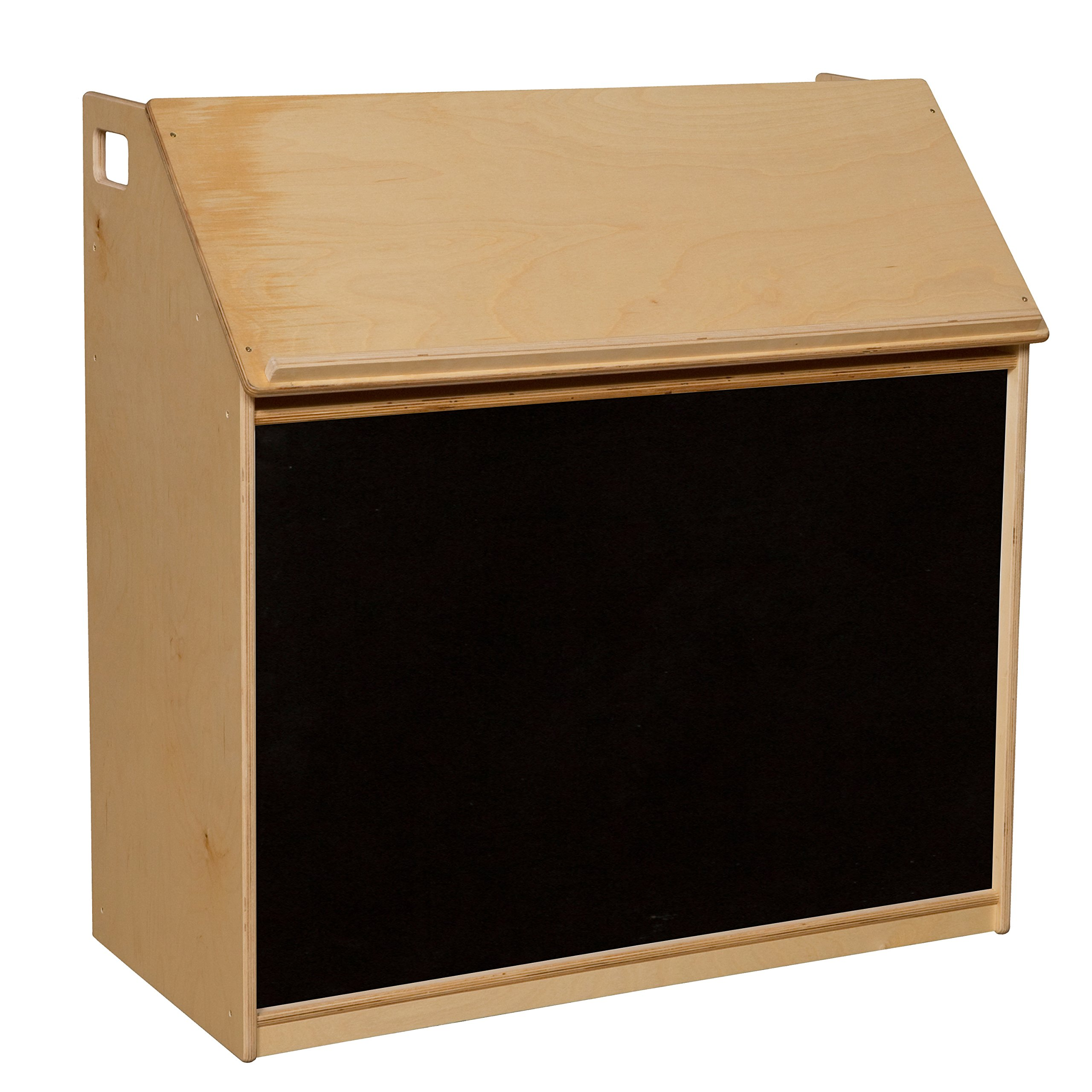 Wood Designs 990319FB Book Display with Flannel Board
