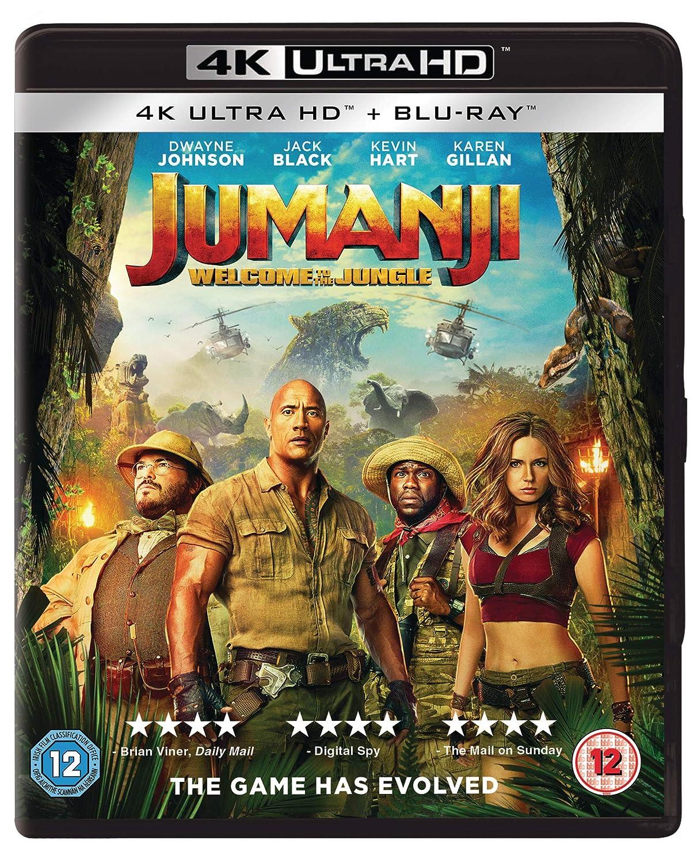 Jumanji: Welcome to the Jungle [Reino Unido] [Blu-ray]