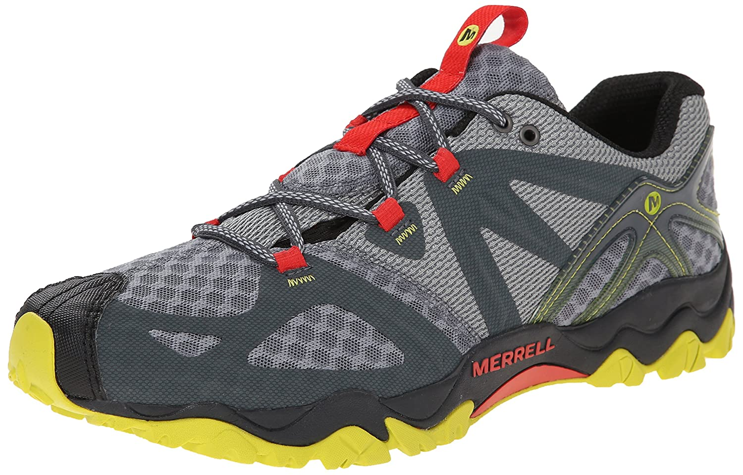 official photos a89b2 1775b Merrell Men s Grassbow Air Trail Running Shoe Turbulence 8 D(M) US  Buy  Online at Low Prices in India - Amazon.in