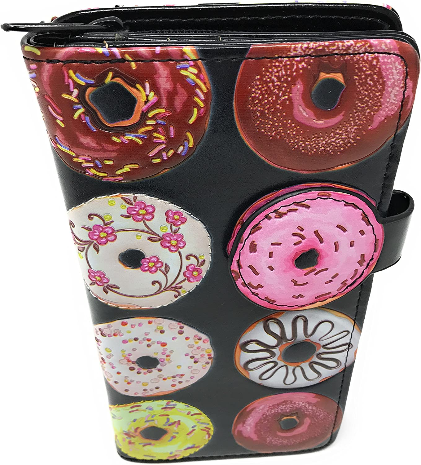 Women's Donut Wallet Black