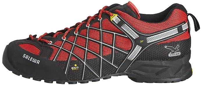 2c8e6bf6904 Salewa Men's Wildfire GTX Approach Shoe, Flame/Black, 12 M US: Buy ...
