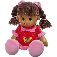 Heunec 470873 Lucy - Muñeca de pelo marrón