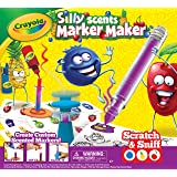 Crayola Silly Scents Marker Maker, Creative Art Tool, Make Your Own Scented Markers, Coloring Gift for Kids, Color Mixing Guide and all Marker Parts
