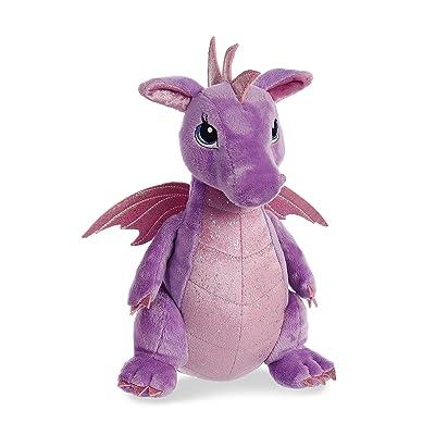 "Aurora - Sparkle Tales - 12"" Larkspur Dragon, 30837: Toys & Games"