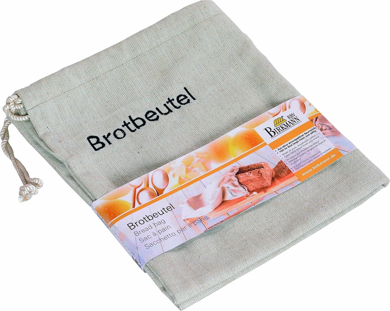 Birkmann 700505 - Bolsa del Pan (algodón Transpirable y Cordel, 38 ...