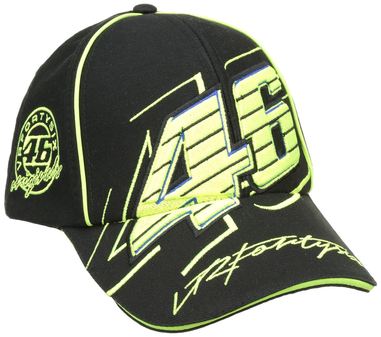 Gorra de béisbol de Moto GP de Valentino Rossi VR46 Logo negro ...